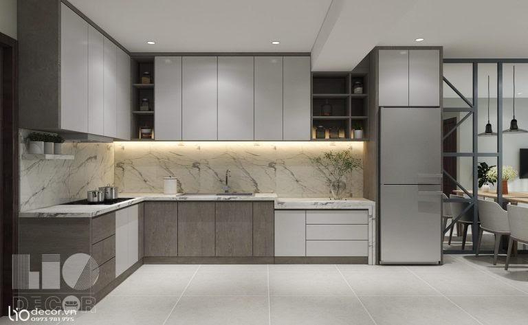 Top 10 thiết kế bếp cho căn hộ bởi Lio Decor