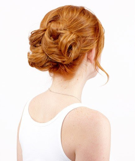 Easy Knot  Updo  5 Minute Hot Weather Hairstyles