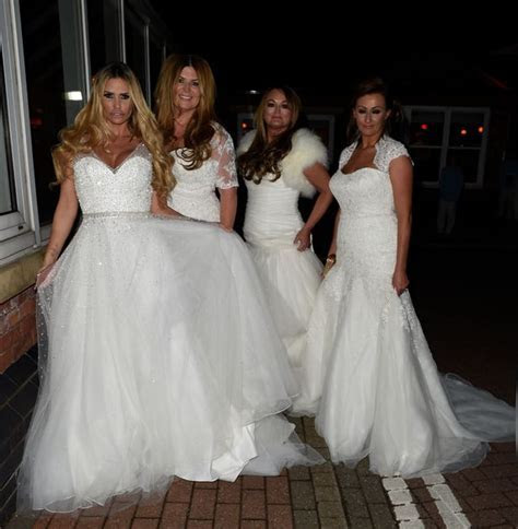 Katie Price is back in a wedding dress and looking like a