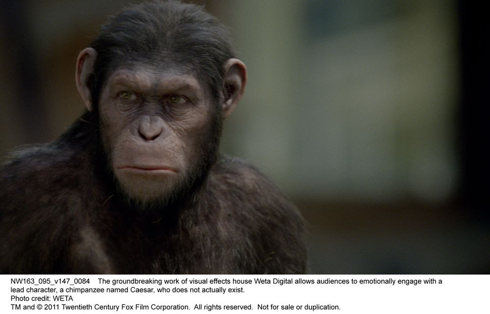 Rise Of The Planet Of The Apes Movie Trailer Poster Images Collider