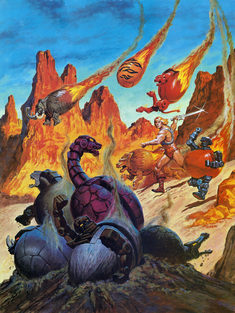Masters Of The Universe - 17 (painting by Earl Norem)