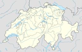 Basel trên bản đồ Thụy Sĩ