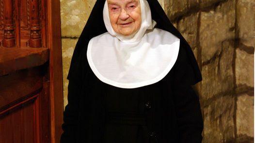 SOR TERESITA. Lleva 84 años viviendo en un monasterio de clausura.