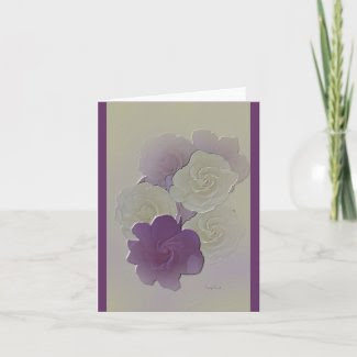 Very Elegant Wedding Invitation / Greeting Card card