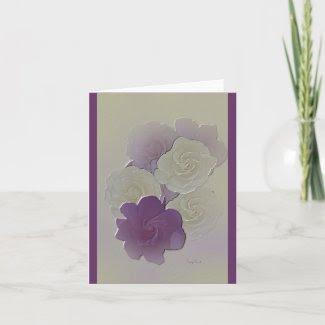 Very Elegant Wedding Invitation / Greeting Card card