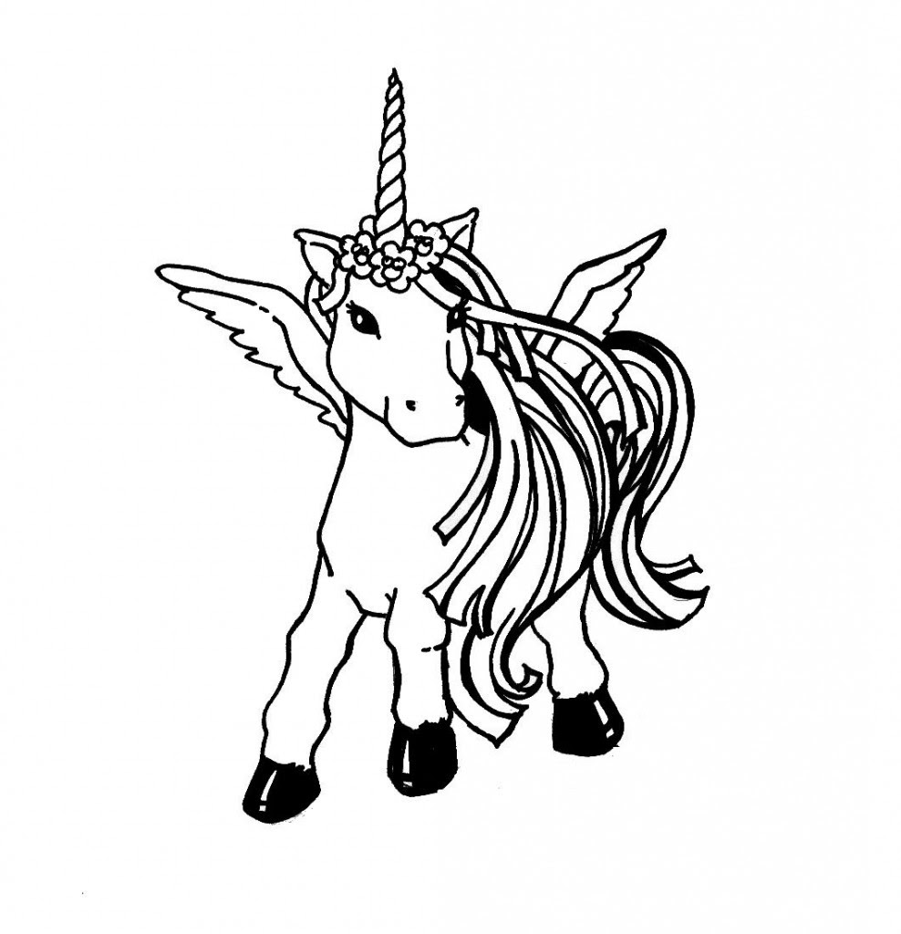 8 Pics Of Fat Cute Unicorn Coloring Pages - Fat Unicorn Coloring ... | 1024x988