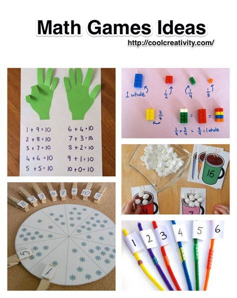 DIY Math Games Ideas to Teach Your Kids in an Easy and Fun