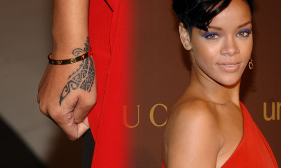 at a charity event for UNICEF and asked her about her new wrist tattoo.