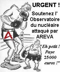 Liberté d'expression antinucléaire