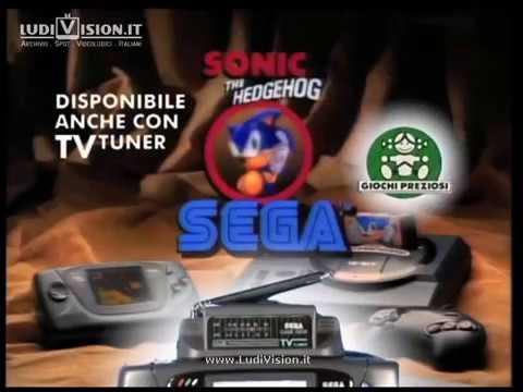 Sega Game Gear con Sonic e TV Tuner (1992)