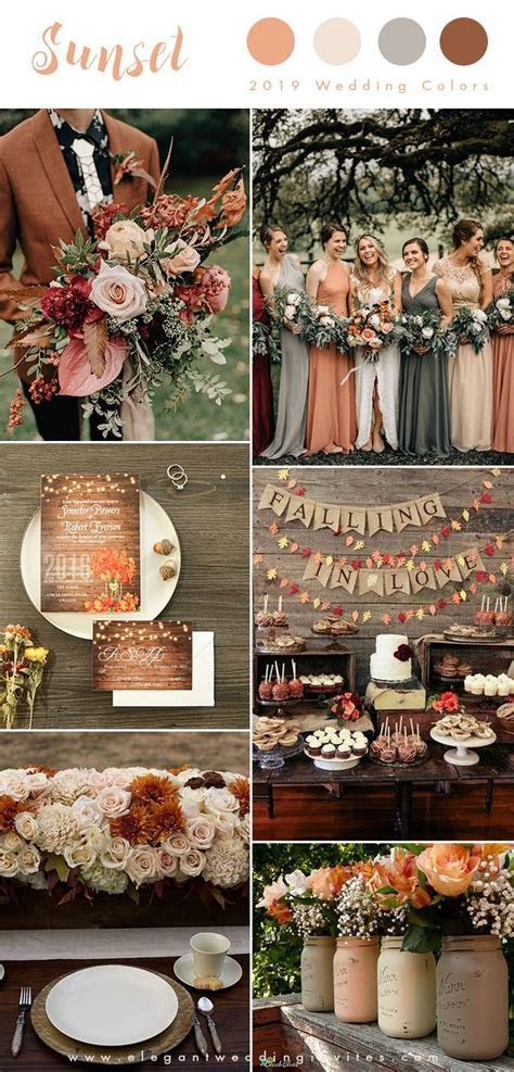 Top 10 Wedding Color Trends We Expect to See in 2019