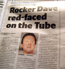Rocker Dave Red Faced on Tube