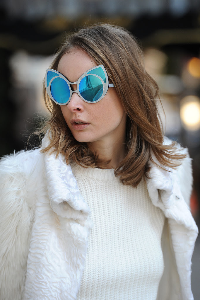 Talk about statement shades.