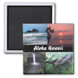 Hawaiian Landscape Collection Magnet
