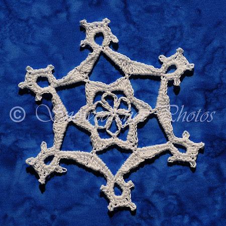 Yoga Snowflake