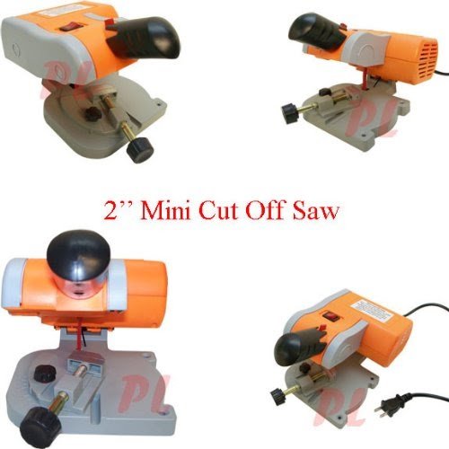 2 Blade Mini Cut Off Metal Saw Miter Bench Grinder