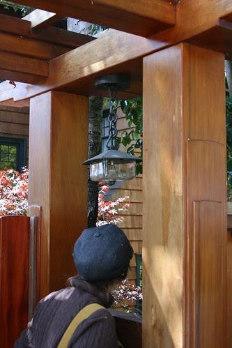 japanese gate arbor detail