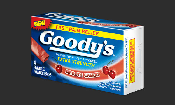 Goodys Pain Relief Medicine packaging 30+ Beautiful Examples of Medicine Packaging Designs For Inspiration