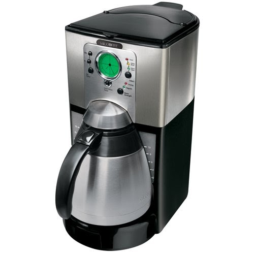 cuisinart coffee maker instructions: Mr. Coffee FTTXSS91 10-Cup Thermal Coffeemaker, Stainless ...
