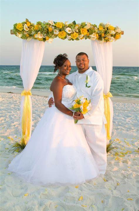 Beach Wedding Photos of Barefoot Weddings Happily Married