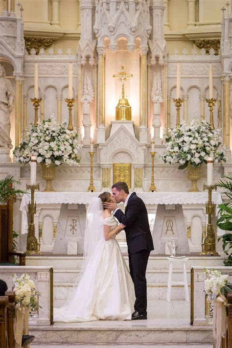 Gold and Ivory Traditional Downtown Tampa Wedding