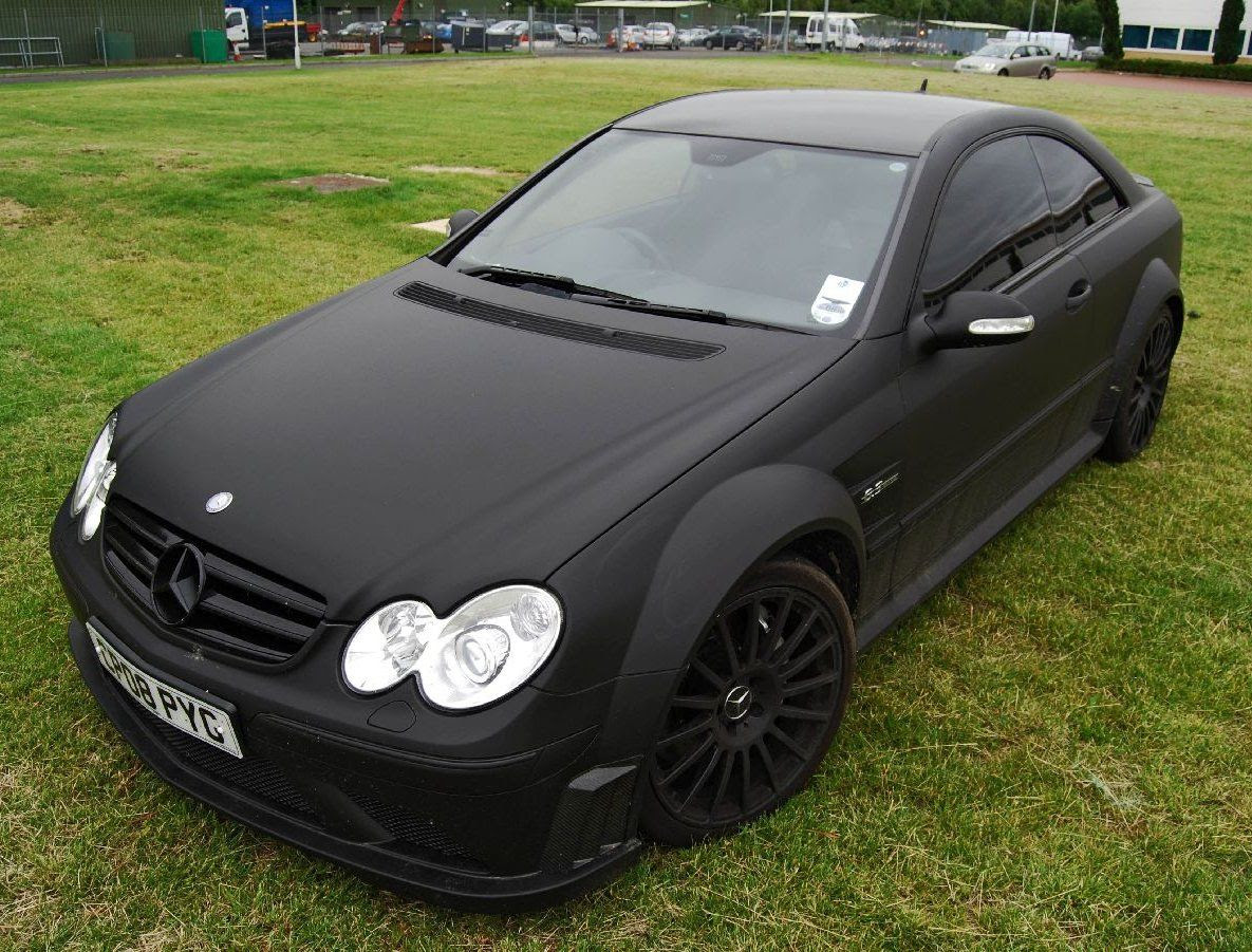 Mercedes-Benz CLK 63 Black Series (matte black) | Used ...