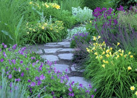 Artistic perennial combinations - landscape ontario.com ...