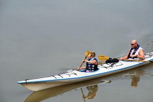 Kayaking the James