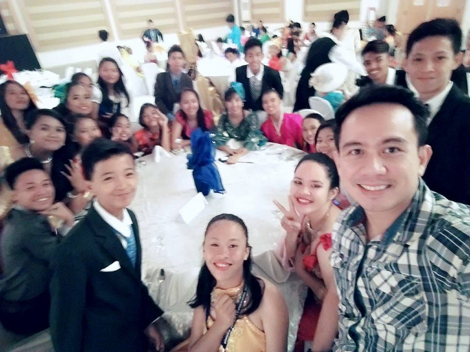 The VoiceMaster with 2015 International Social Science Camp Delegates