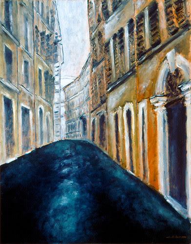 Street Scene, Roma / 街景, 羅馬 / Straßen-Szene, Roma