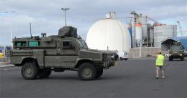 Vehículos Lince y RG-31 despliegan en Canarias para instrucción de ASPFOR XXXIII