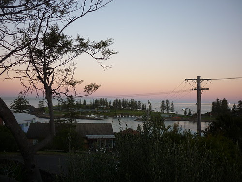 Kiama at dawn
