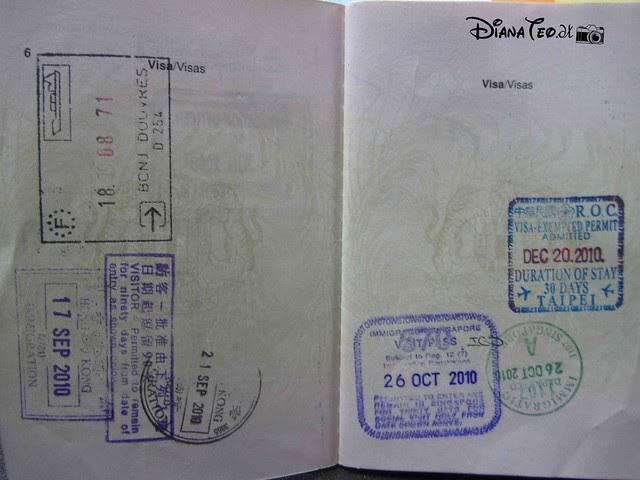 Passport Stamp Collection 02