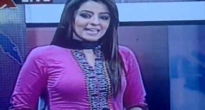 Hot Ayesha Sohail TV News Caster   WWE Mujra
