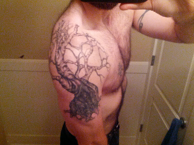 What The Hell Heres My Yggdrasil Tree Of Life Tattoos