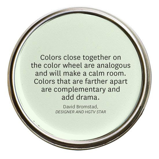 Use the Color Wheel