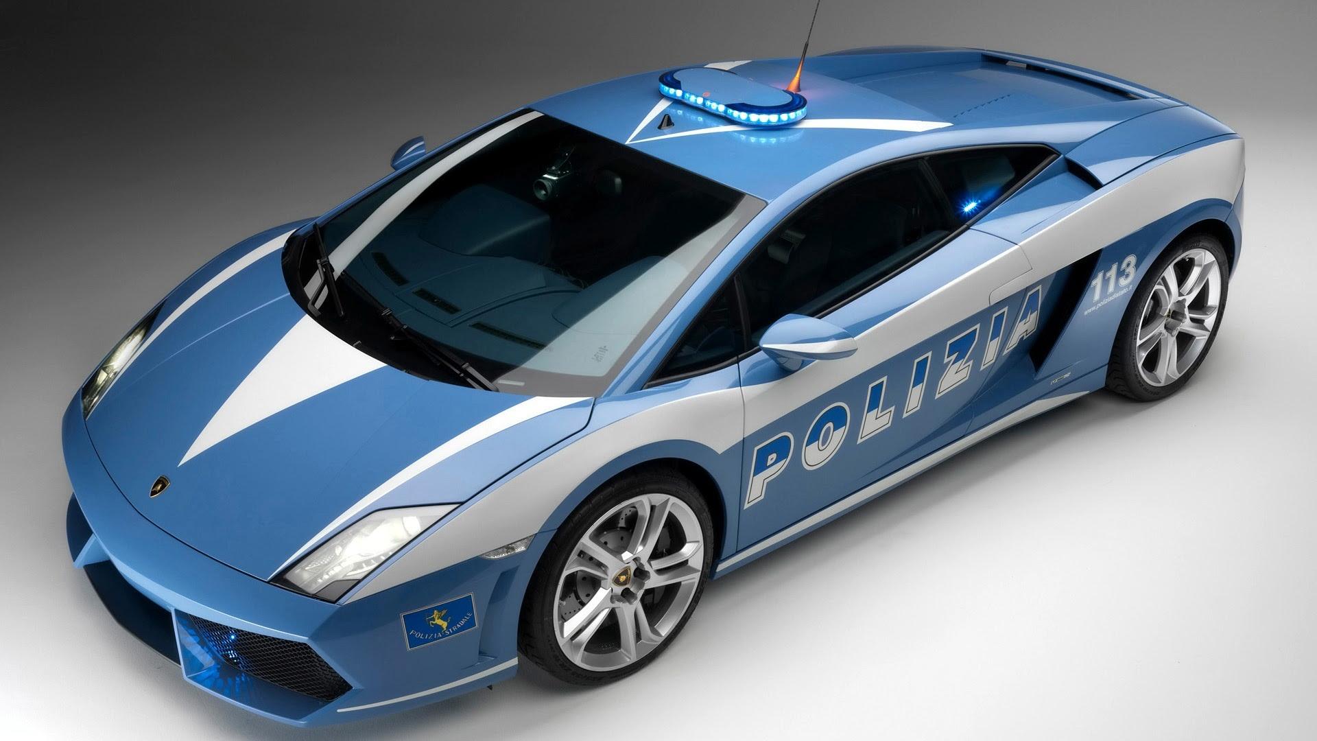 Lamborghini Gallardo Polizia Wallpapers In Format For