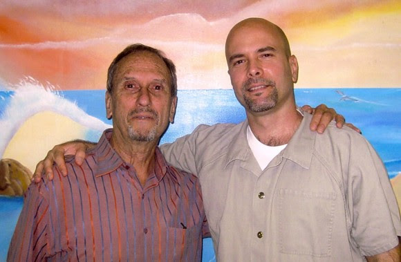Saúl y Gerardo. Foto tomada el 23 de octubre de 2010.