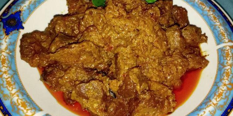 Resep Rendang Daging Ala RM Padang Oleh Rya