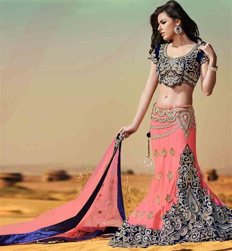 Indian Latest Bridal Lehenga Sarees with New Blouse