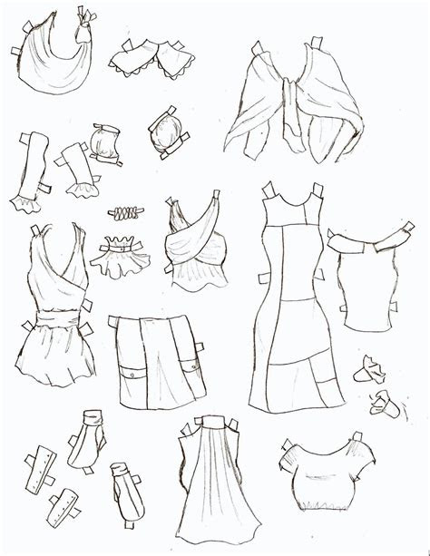 missy paper dolls lucy clothes