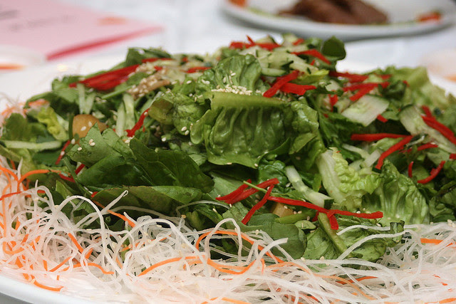 Lo Hei Raw Fish (Teochew style)