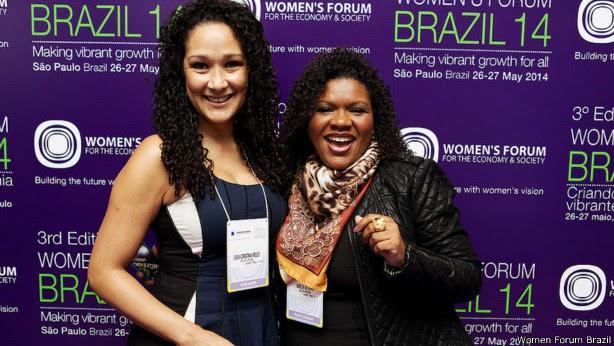 Leila Velez, fundadora da rede de salões Beleza Natural, foi uma das escolhidas na lista de líderes globais (Foto: Women Forum Brasil)