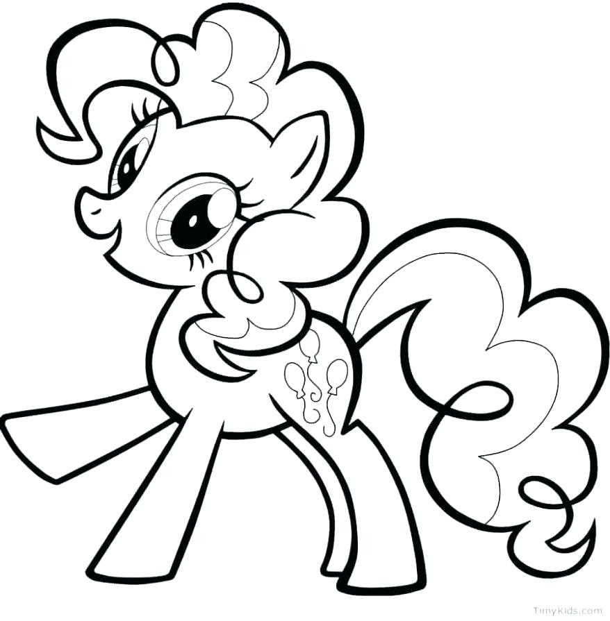 The Best Free Little Pony Coloring Page Images Download From 10295