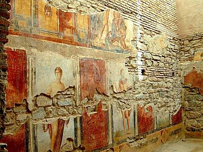 Ephesus frescoes in house