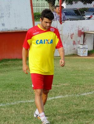 Arthur Maia, meia do América-RN (Foto: Jocaff Souza/GloboEsporte.com)