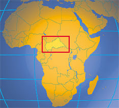 Where in Africa is the Central African Republic?
