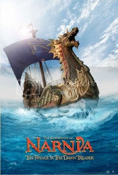 The Chronicles of Narnia: The Voyage of the Dawn Treader As Crónicas de Nárnia: A Viagem do Caminheiro da Alvorada