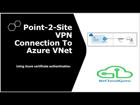 How to Configure Azure Point to Site VPN Step By Step | Azure Point to S...