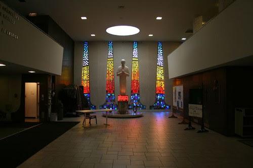 Saint John Bosco Church - main foyer